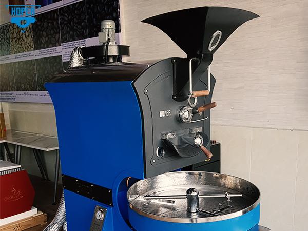Máy rang cà phê Hoper 15kg