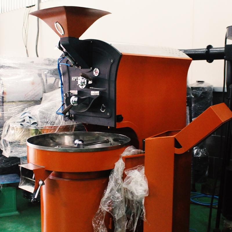 Máy rang cà phê Hoper 10kg